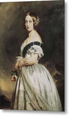 Winterhalter, Franz Xavier 1805-1873 Metal Print by Everett