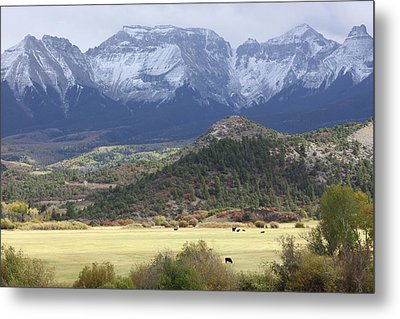Winter's Coming Metal Print by Eric Glaser