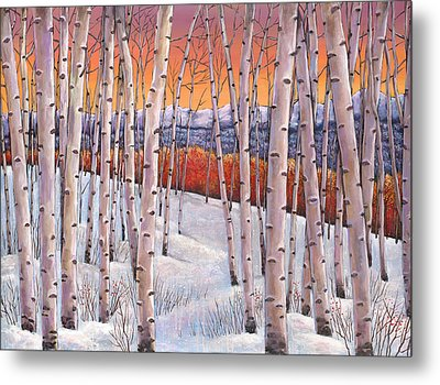 Winter's Dream Metal Print