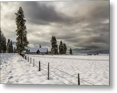 Winters Escape Metal Print