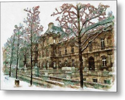 Wintertime Sadness Metal Print by Ayse Deniz