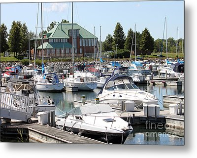 Metal Print featuring the photograph Winthrop Harbor by Debbie Hart