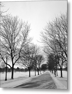 Windy Road Metal Print
