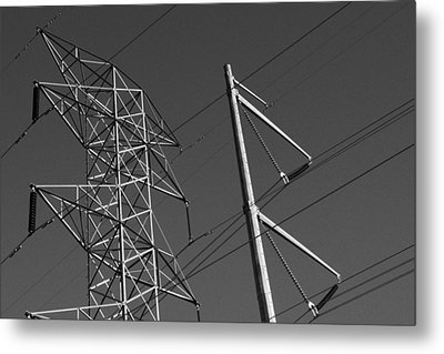 Wired Metal Print by David Rizzo