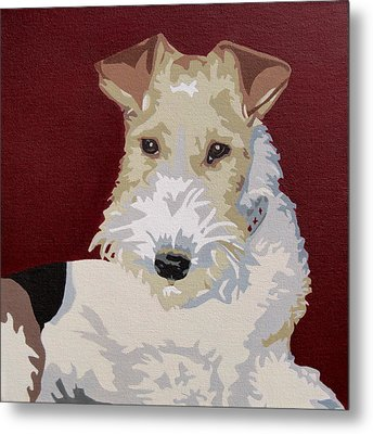 Wirehaired Fox Terrier Metal Print by Slade Roberts