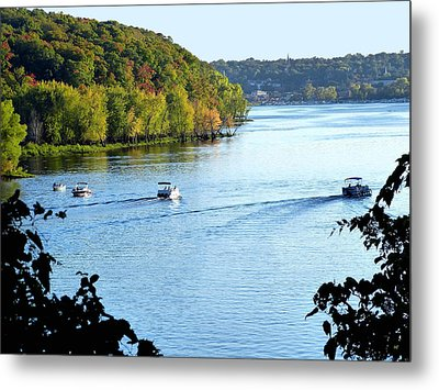 Wisconsin And Minnesota Metal Print by Will Borden