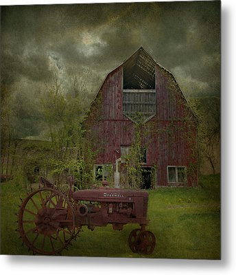 Wisconsin Barn 3 Metal Print by Jeff Burgess