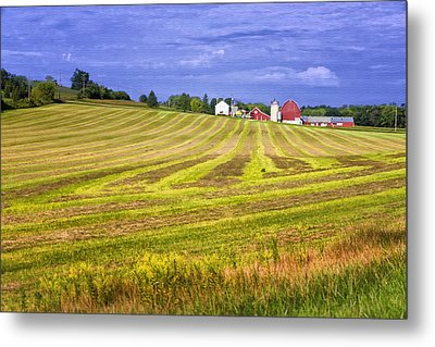 Wisconsin Dawn Metal Print