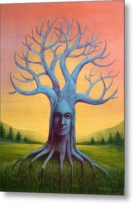 Wisdom Tree Metal Print