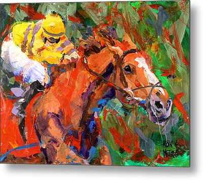 Wise Dan Metal Print by Ron and Metro