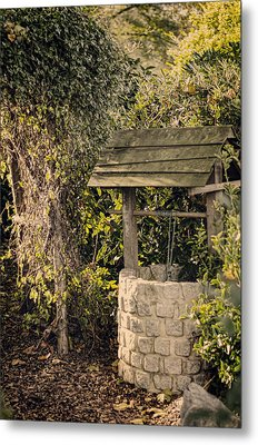 Wishing Well Metal Print