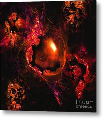 Wistful Love Deep In My Soul Metal Print