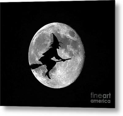Witchy Moon Metal Print by Al Powell Photography USA
