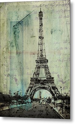 With Love From Paris  Metal Print
