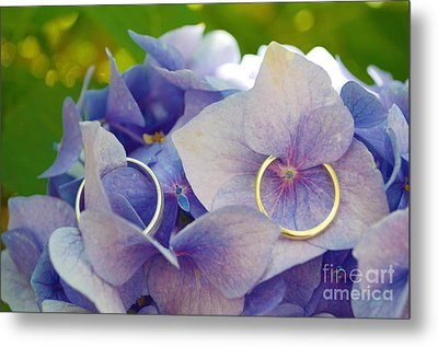 With This Ring  Metal Print