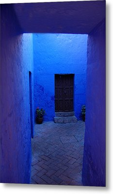 Within Bue Walls Metal Print by RicardMN Photography