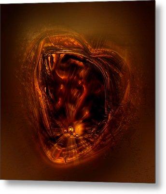 Within My Heart Metal Print by Li   van Saathoff