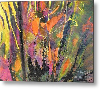 Within The Forest Metal Print by Lyn Olsen