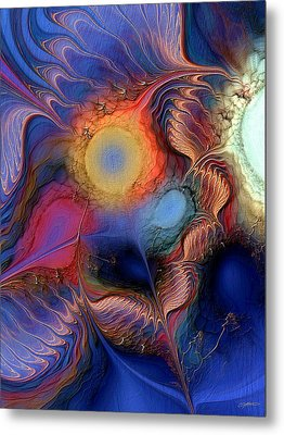 Metal Print featuring the digital art Within You And Without You by Casey Kotas