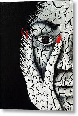 Without Moisturizer Metal Print by Edwin Alverio