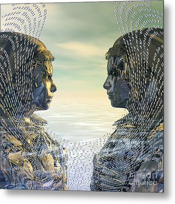 Without Words Metal Print by Diuno Ashlee