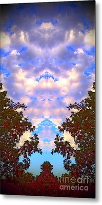 Wizards In The Clouds Metal Print by Karen Newell