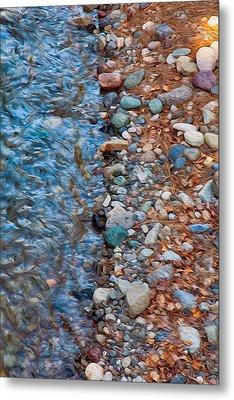 Wolf Creek Downstream Metal Print by Omaste Witkowski