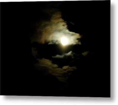 Wolf Eating The Moon I Metal Print