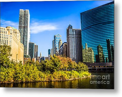 Wolf Point In Chicago Metal Print by Paul Velgos