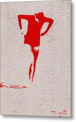 Woman Emerging -- Version J Metal Print by Brian D Meredith