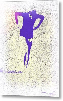 Woman Emerging -- Version K Metal Print by Brian D Meredith