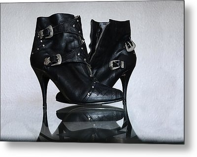 Metal Print featuring the photograph Woman In Charge by Renee Anderson