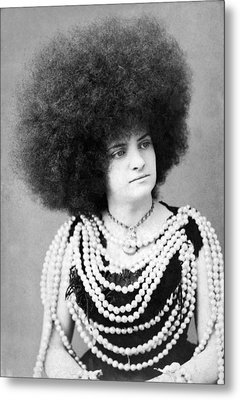 Woman Vaudeville Performer Metal Print by Underwood Archives