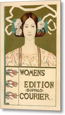 Women's Edition Buffalo Courier Metal Print by Gianfranco Weiss