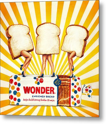 Wonder Women Metal Print by Kelly Gilleran