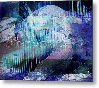 Wonderfully Cold Metal Print by Shirley Sirois