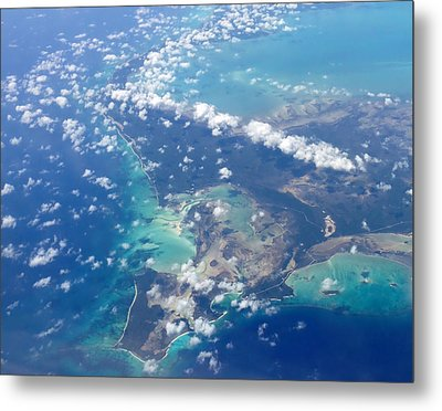 Wonders From Above Metal Print by Laurie Search