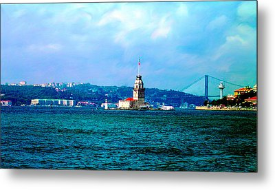 Metal Print featuring the photograph Wonders Of Istanbul by Zafer Gurel
