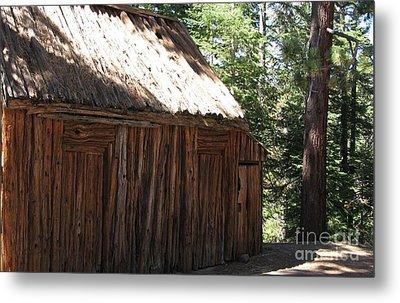 Wood Barn At Lake Tahoe Metal Print