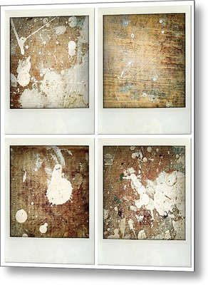 Wood Metal Print by Les Cunliffe