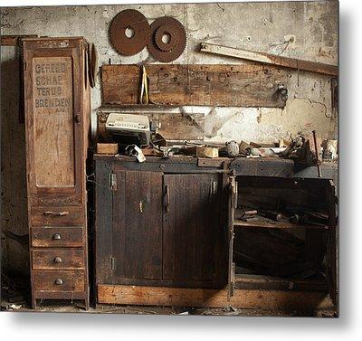 Wood Mill #1 Metal Print