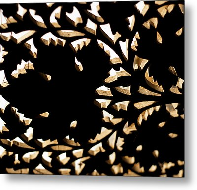 Wood Work Metal Print by Christi Kraft