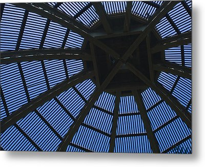 Wooden Dome Metal Print