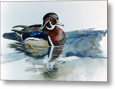 Woodie Metal Print by Lynne Parker