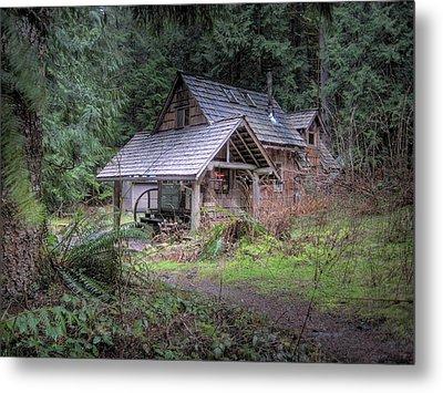 Rustic Cabin Metal Print