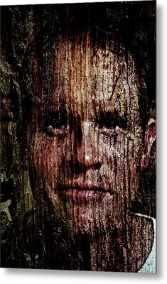 Woodland Kin Metal Print by Christopher Gaston