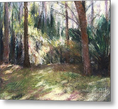 Woodland Shadows Metal Print