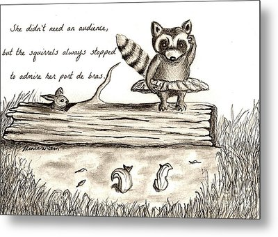 Woodland Whimsy 1 Metal Print by D Renee Wilson