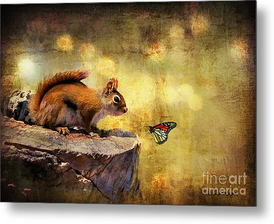 Woodland Wonder Metal Print by Lois Bryan