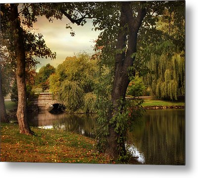 Woodlawn Reflections Metal Print